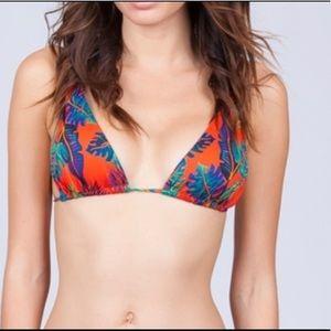 NWT L*SPACE bikini top